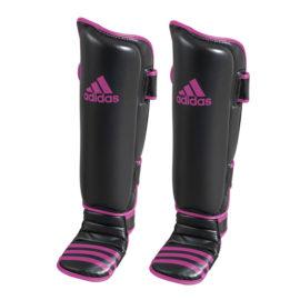 Adidas Economy Scheen- en Wreefbeschermers - Zwart/Roze