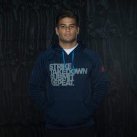 Adidas Strike Hoodie - Dark Blauw