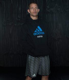 Adidas  Training MMA Short - Grijs