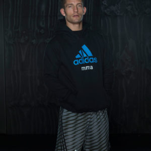 Adidas Training MMA Short - Grijs
