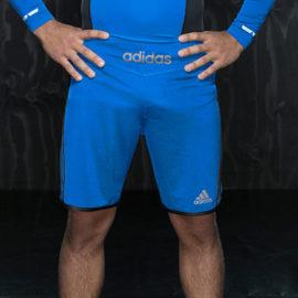 Adidas Transition MMA Short - Blauw