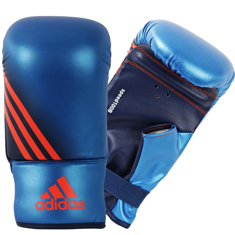 Adidas  Speed 100 Bokszakhandschoenen - Blauw_S/M