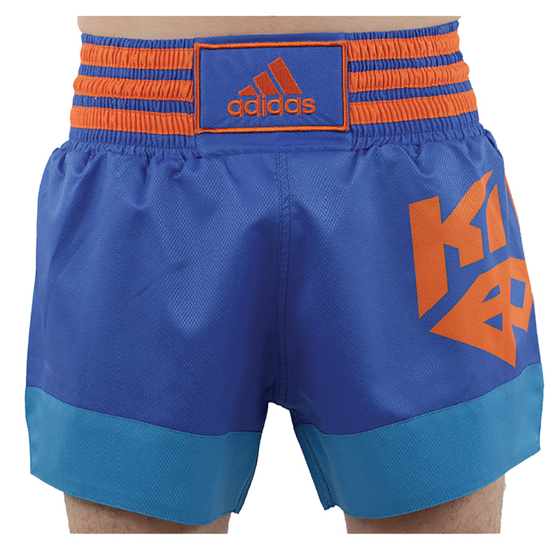Adidas Kickboksshort - Blauw