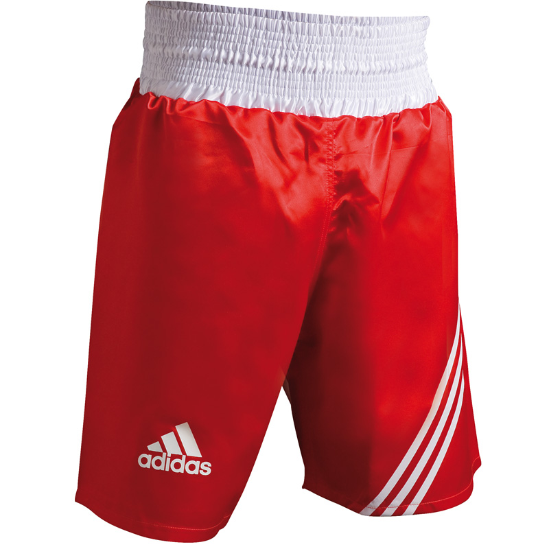 "Adidas  ""Multi"" Boxing Short - Rood/Wit"
