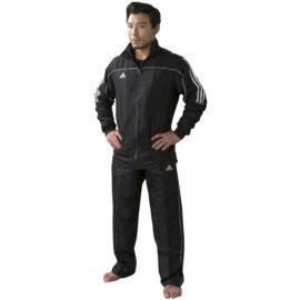 Adidas Team Track Trainingsjas - Zwart/Wit