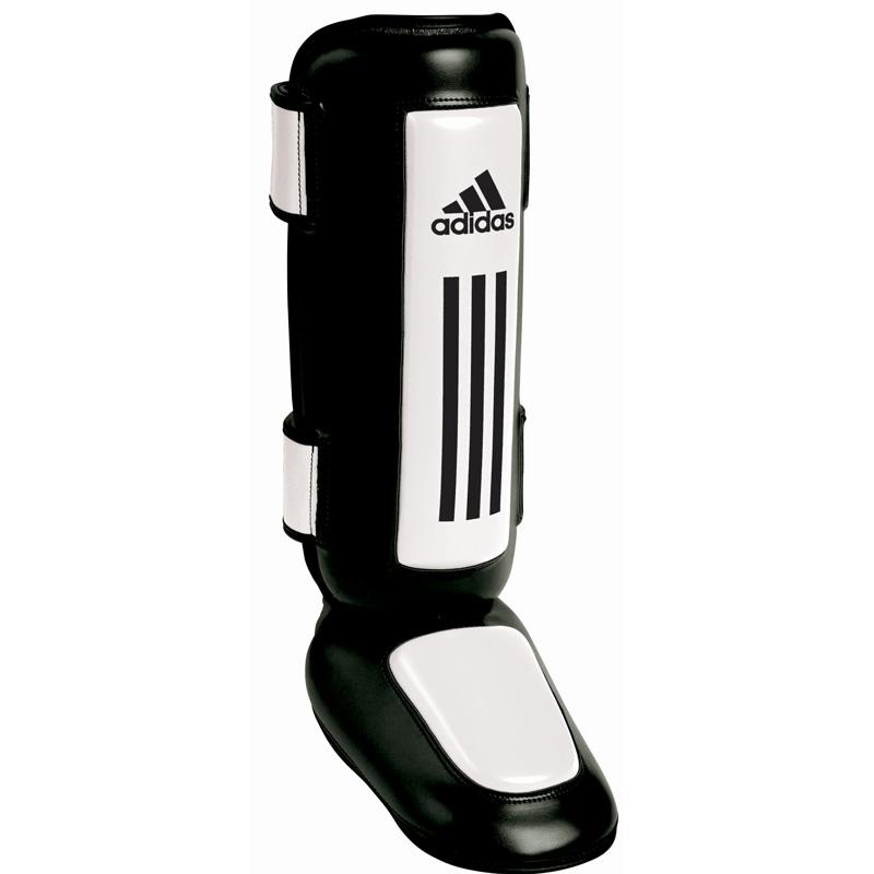 Adidas Pro Style Scheenbeschermers - Zwart/Wit