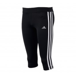Adidas  YG T 3/4 Tight zwart - wit