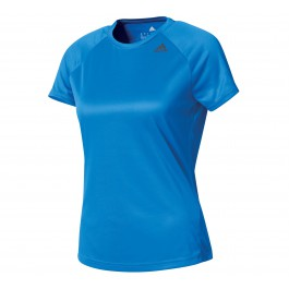 Adidas D2M Tee Lose W blauw