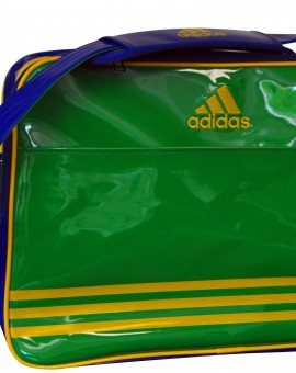 Adidas Jiu Jitsu Sporttas Retro (groen/geel)