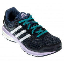 Adidas Questar Boost zwart - blauw - paars