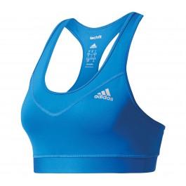 Adidas TF Bra - Solid blauw - zilver