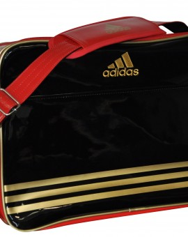 Adidas Taekwondo Sporttas Retro (zwart / rood)