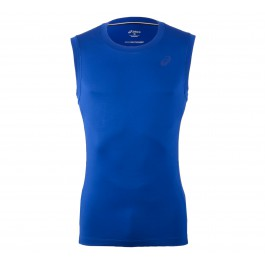 Asics Sleeveless Top M blauw