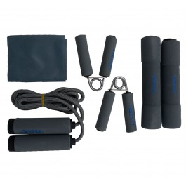 Avento Fitness Set (6-delig) grijs