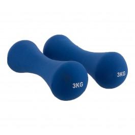 Avento  Halter 2 x 3kg blauw