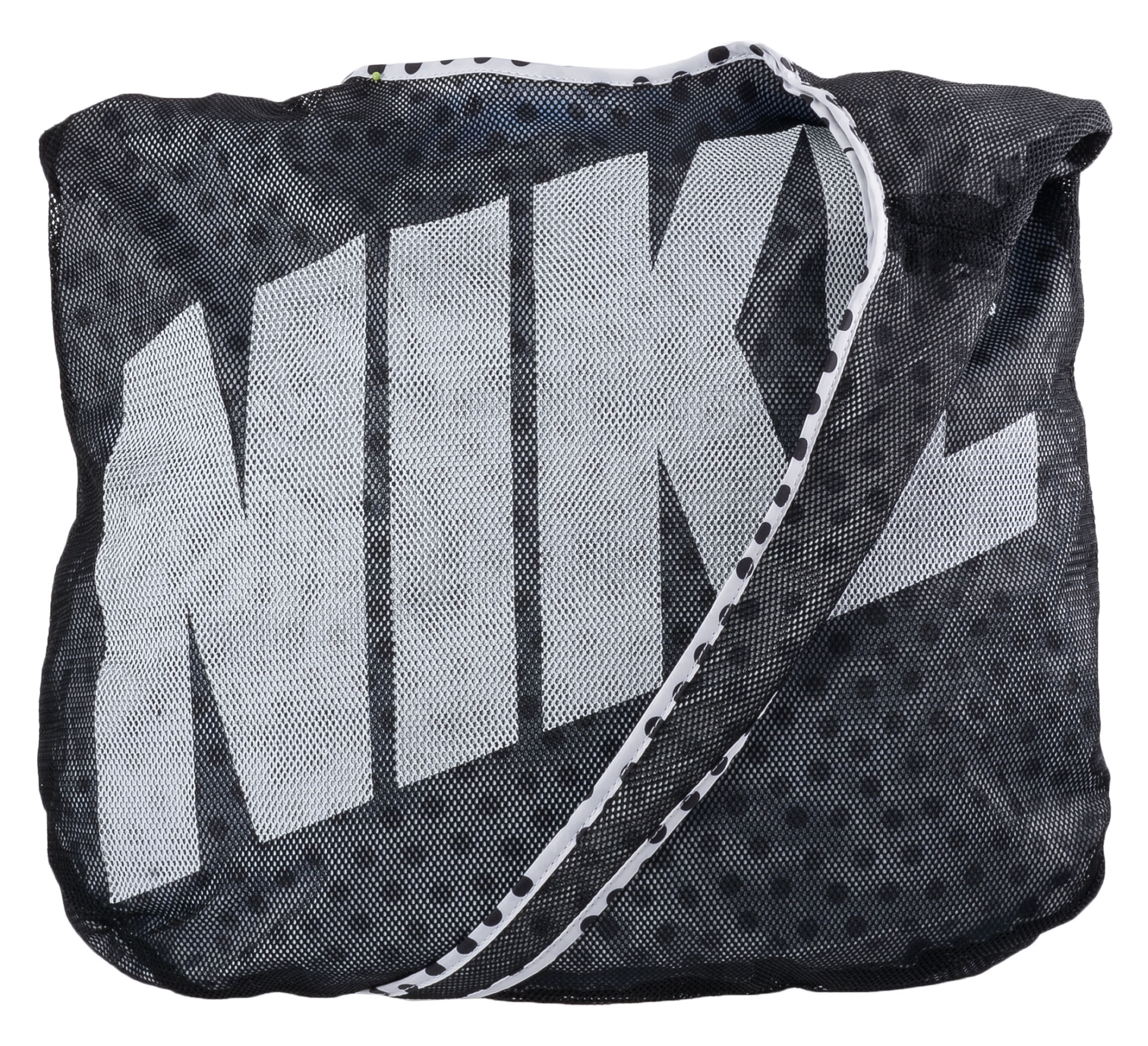 Nike Graphic Rev Tote wit - zwart
