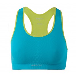 Craft  Cool Seamless Bra blauw - licht groen