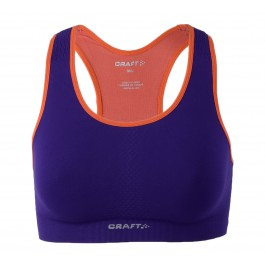 Craft  Cool Seamless Bra paars - oranje