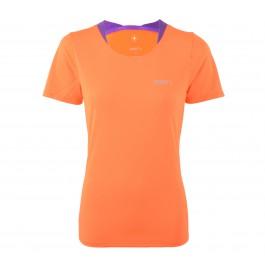 Craft  Joy SS Shirt W oranje - paars