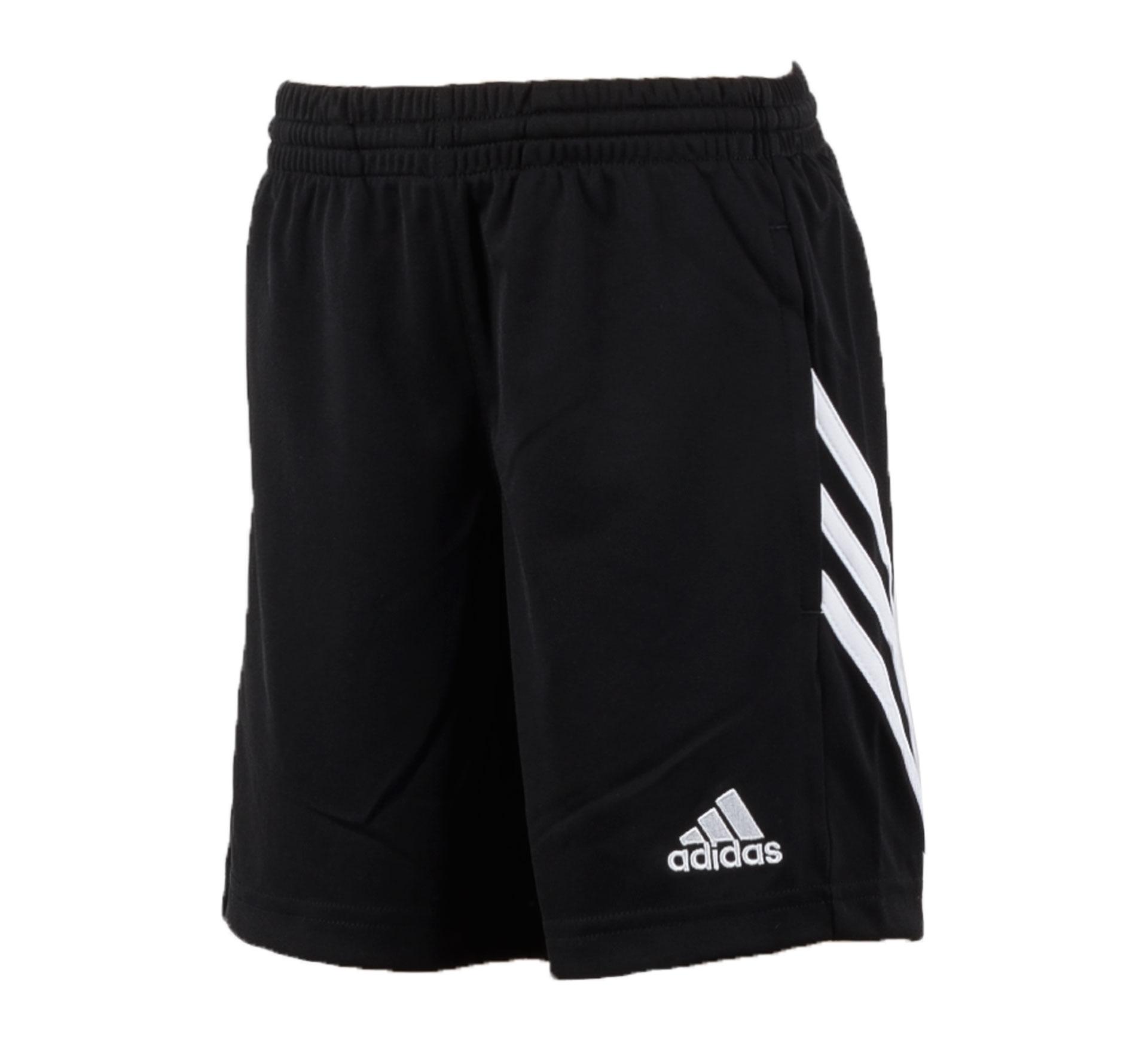 Adidas Sereno 14 Trainingsshort Junior zwart - wit