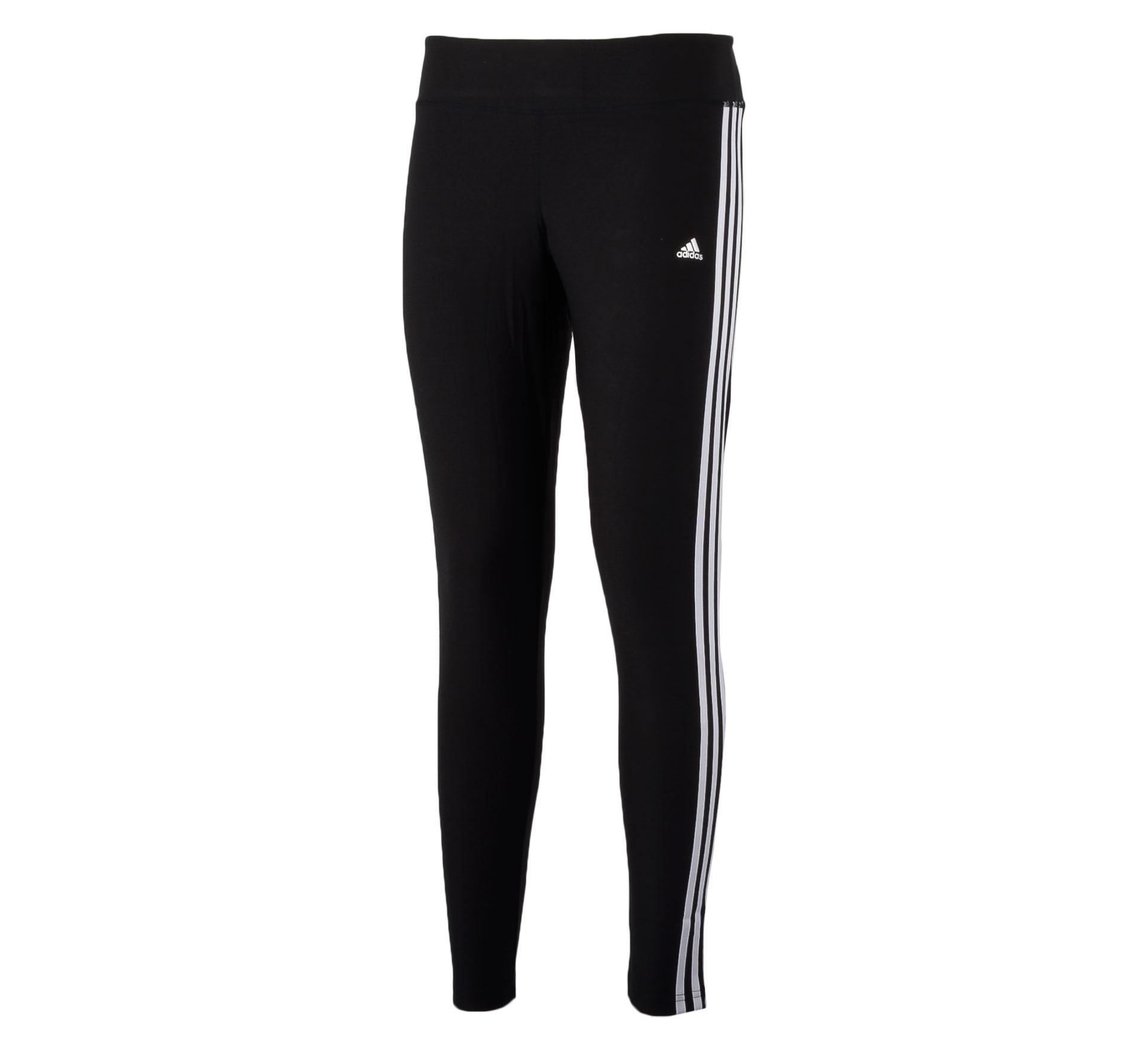 Adidas Ultimate Fit 3Stripe Tight Dames zwart - wit