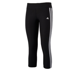 Adidas Ultimate Fit 3Stripe 3/4 Tight Dames zwart - wit