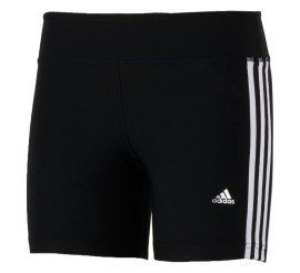 Adidas Ultimate Fit 3Stripe Short Dames zwart - wit