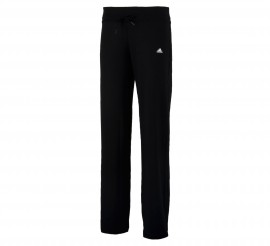 Adidas Clima Essentials Slim-Fit Fitnessbroek Dames zwart