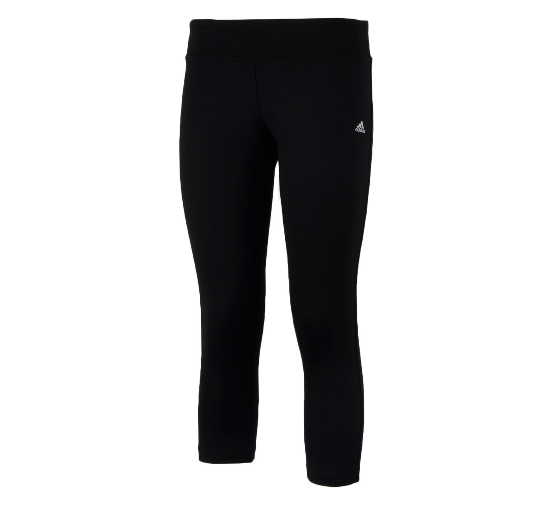 Adidas  Clima Essentials 3/4 Broek Dames zwart