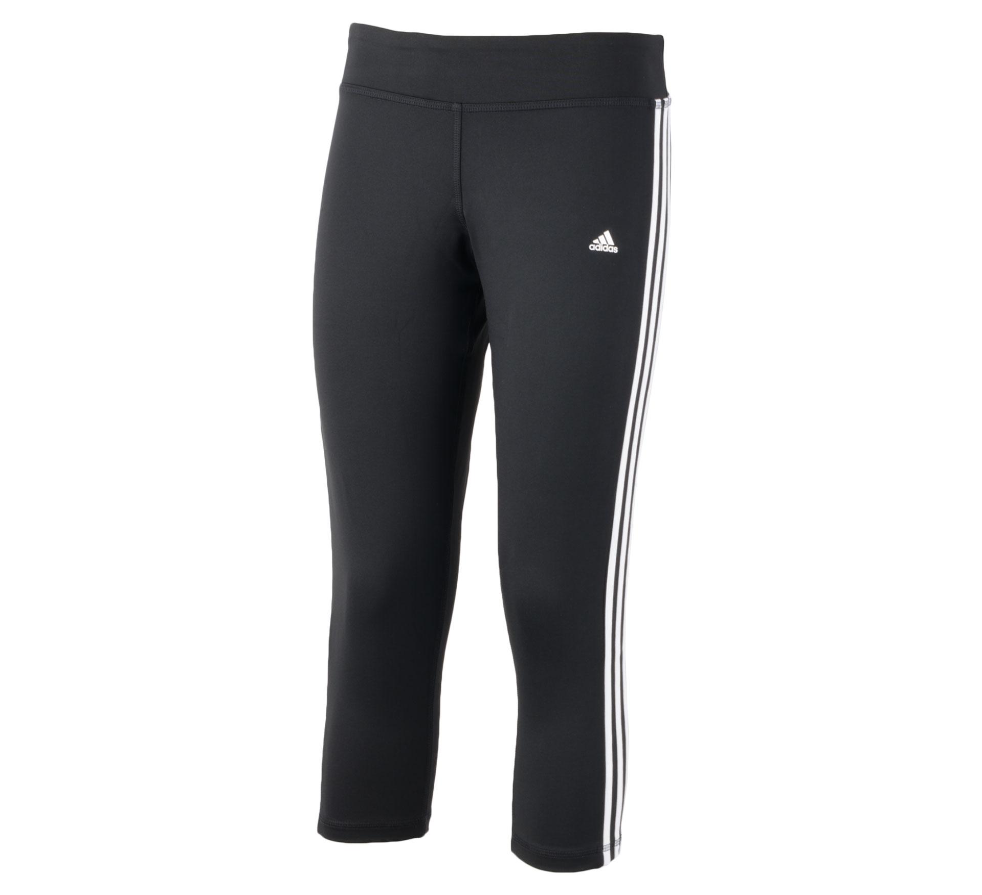 Adidas  Clima 3S Ess 3/4 zwart - wit