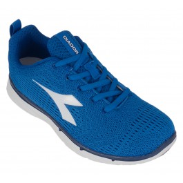 Diadora  NJ-303 Trama Jr blauw - wit