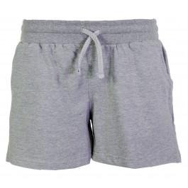 Donnay Performance Fleece Short Lds grijs