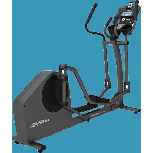 Life Fitness E1 Cross Trainer met Track+ Paneel