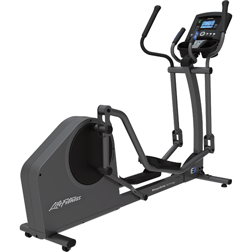 Life Fitness E1 Cross Trainer - Base met Go Paneel