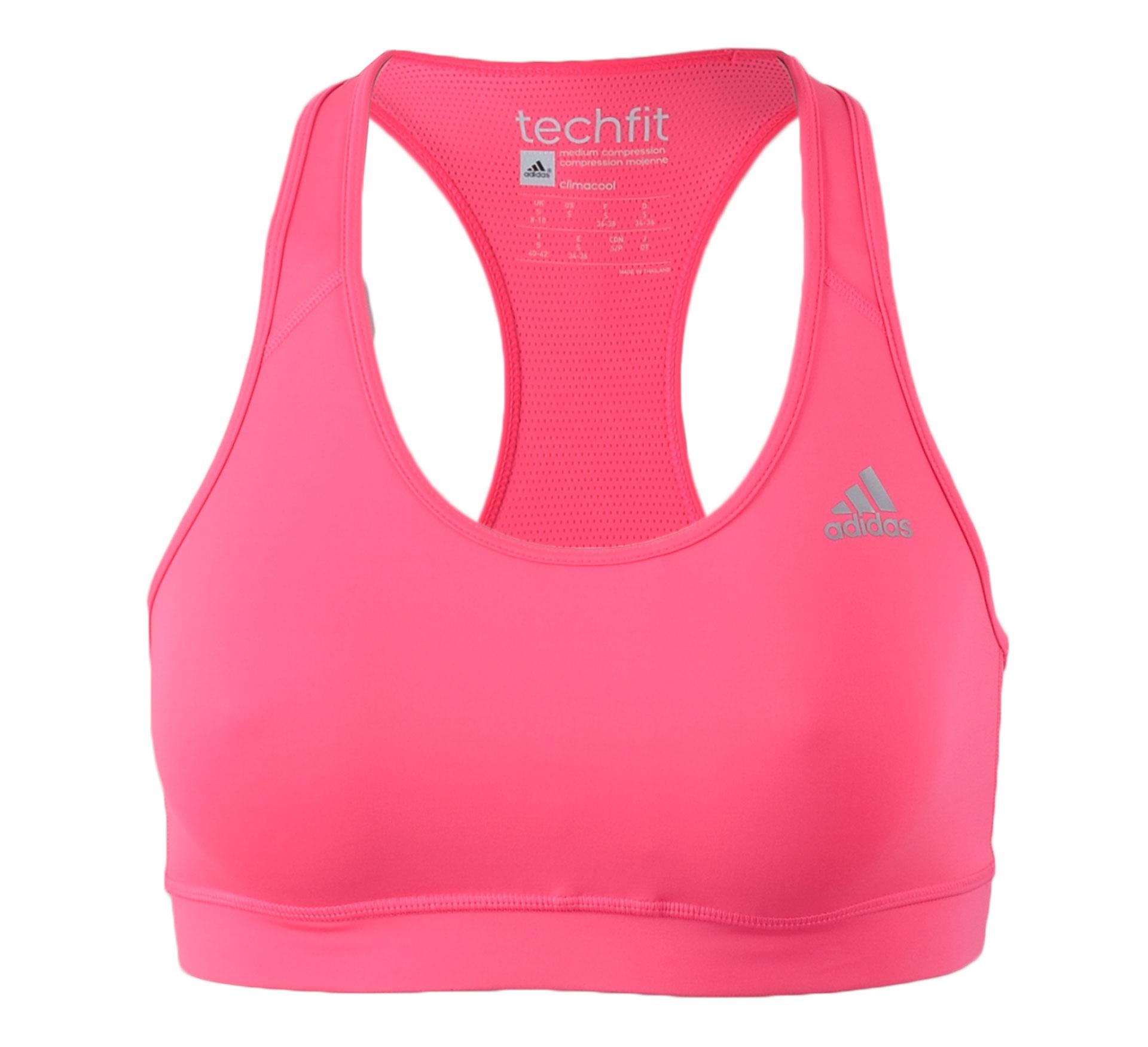 Adidas TechFit Sport Beha Dames roze