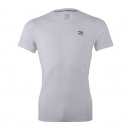 Jack & Jones T3ch Basic Training Tee SS wit - zwart