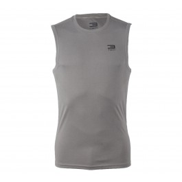 Jack & Jones T3ch Training24 Functional SL Tee grijs - zwart