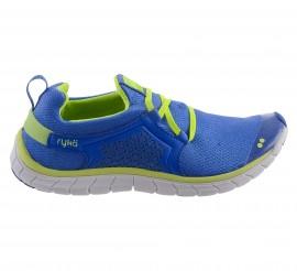 Rykä  Desire Low Fitnessschoenenen Dames blauw - geel