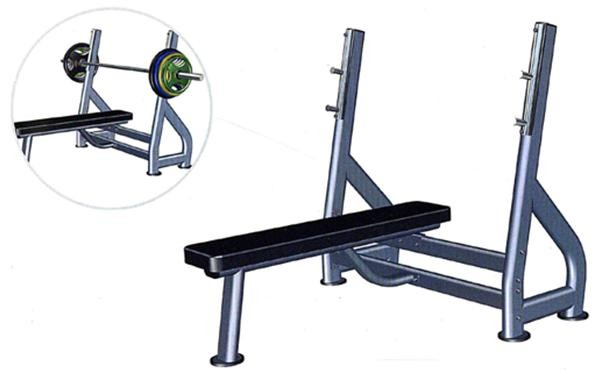 Lifemaxx Olympische press bench