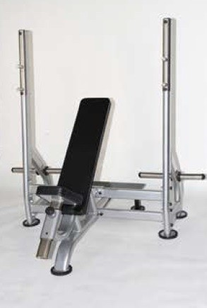 Lifemaxx Olympische incline bench