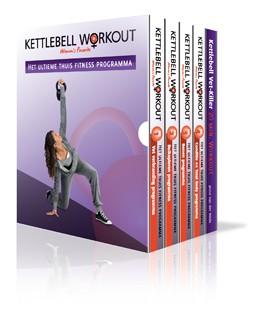 Lifemaxx Kettlebell workout' 5 DVD Box (Nederlands)