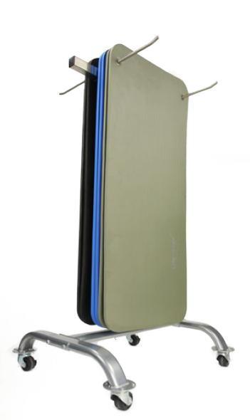 Lifemaxx Aerobic mat rek - 30 matten van 1800 mm