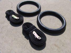 Lifemaxx Training Rings met markering op strap