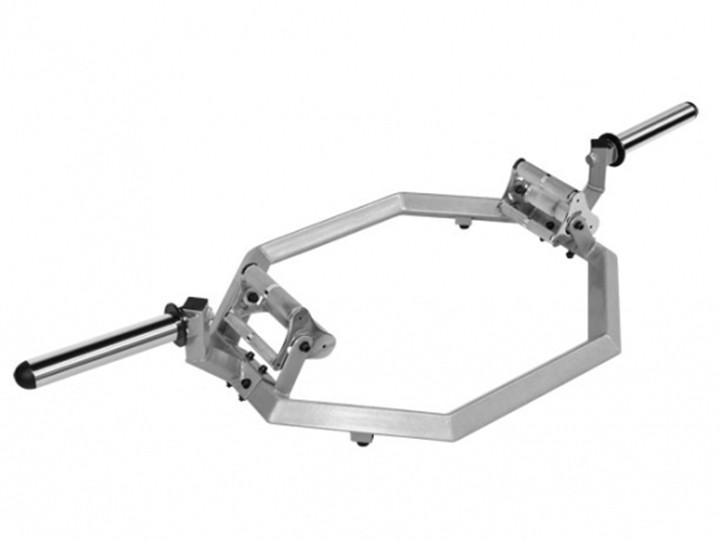 Lifemaxx Olympische Pro Hex Halterstang - 50 mm
