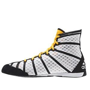 Adidas AdiZero Boksschoenen - Geel/Wit
