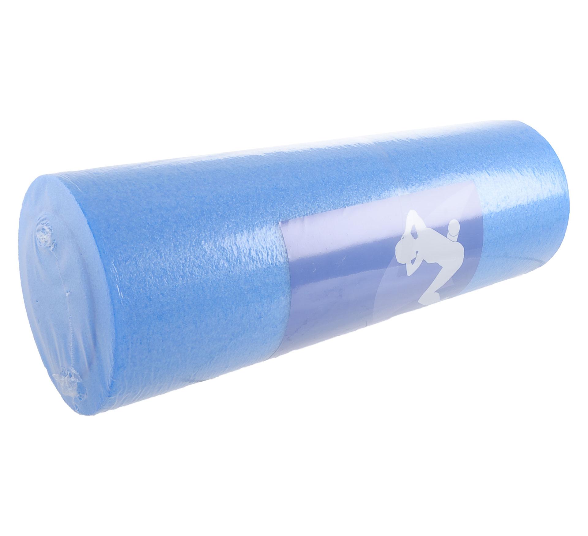 More Mile Foam Roller 45cm blauw