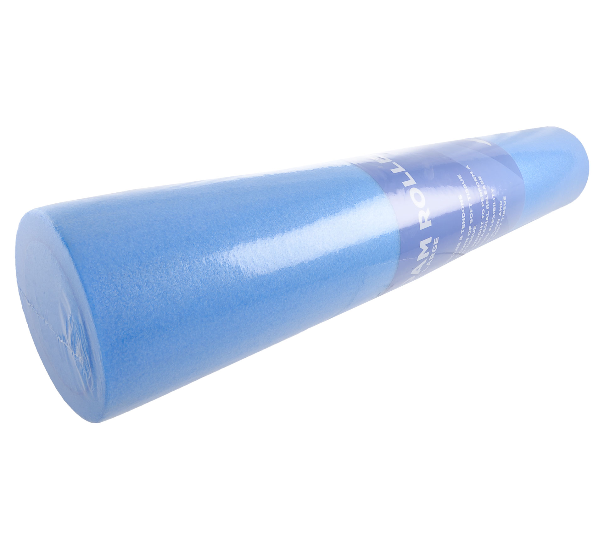 More Mile  Foam Roller 90cm blauw