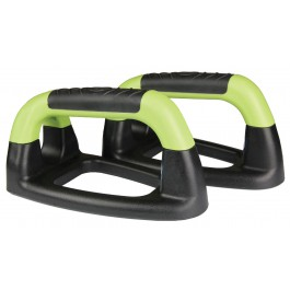 Mad Angled Push Up Stands lime groen - zwart