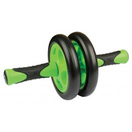 Mad  Duo Ab Wheel zwart - groen