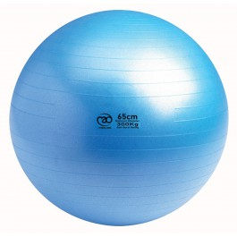 Mad Swiss Ball-Pump-DVD 65cm blauw